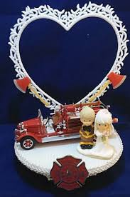 fireman cake topper wedding fairytale dreams fireman precious moments wedding cake topper