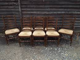 Antique Oak Ladder Back Chairs Barn Farm Antiques Antiques Antiques For Sale