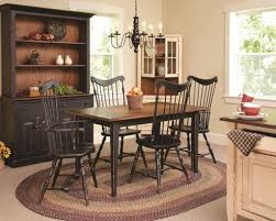 unique oval braided rug for classic dining room ideas with antique