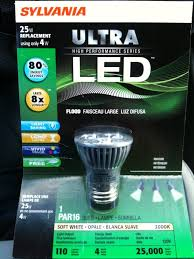 osram sylvania led l appears with rogue lighting facts label leds