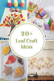 leaf crafts for kids the idea room