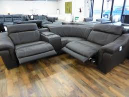 Corner Recliner Leather Sofa Sofa Leather Sofas With Recliners Electric Recliner