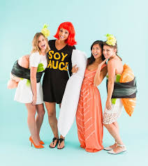 Halloween Costumes Girls Diy 25 Sushi Costume Ideas Sushi Halloween