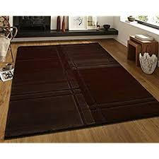 rugs with flair 140 x 200 cm visiona soft 4304 brown amazon co