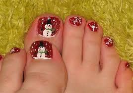 amazing christmas toe nail art designs u0026 ideas for beginners
