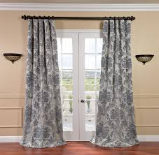 Gray And White Blackout Curtains Homey Grey And White Blackout Curtains Excellent Thermal Groupon