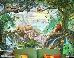 nature jungle wall murals nature jungle
