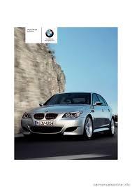 bmw m5 sedan 2008 e60 owner u0027s manual