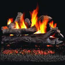 peterson real fyre 18 inch coastal driftwood gas log set with