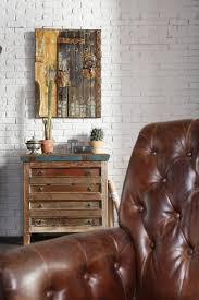 Wohnzimmer Ziegeloptik Ziegelwände Selber Machen
