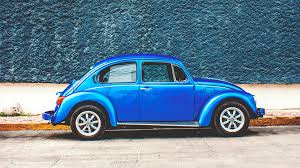 volkswagen beetle side view download wallpaper 1920x1080 auto retro side view blue full hd