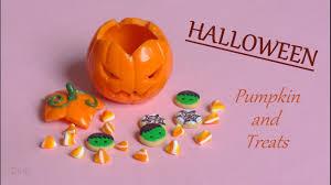 stop motion halloween treats u0026 pumpkin tutorial citrouille