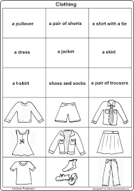 10 best images of weather worksheet for french clothing french