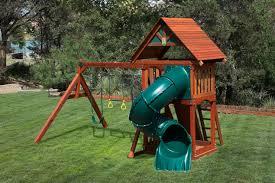 pre assembled backyard wooden swingsets 20 off