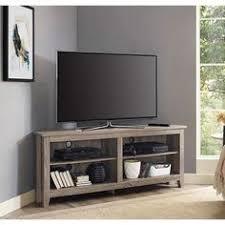 Reynolds Long Low Media Suite Winsome Evans Black Mdf Chrome Home Living Room Tv Media Stand