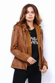 female motorcycle jackets winter leather jackets for women coat casaco feminino female