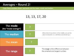 ks3 mean mode range dr j frost last modified 12 th october ppt