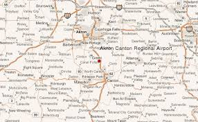 of akron map akron canton regional airport location guide