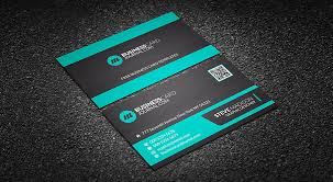 minty green corporate business card template