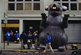 Halloween City Union Nj by The Story Behind The Giant Inflatable Union Rat Mental Floss