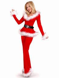womens santa costume three pieces shoulder sleeve santa for women