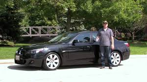 2006 bmw 550i review 2006 bmw 530i sport test drive with chris from