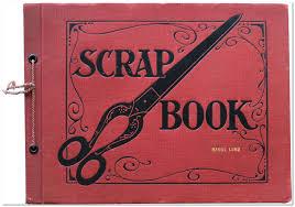 Scrapbook Binder A Peek Into Yesteryear Using Scrapbooks For Genealogy Research