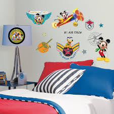 Mickey Mouse Bedroom Ideas Roommates Rmk1674scs Mickey U0026 Friends Clubhouse Pilot Peel