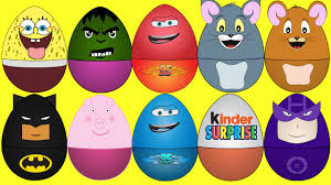 learn colors with surprise eggs for kids video for children