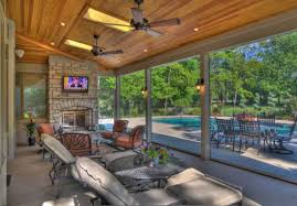 Backyard Screen House by Screen Rooms Traditional Patio St Louis By Heartlands