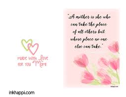 mother day quote mother i love you mothers day quotes prints inkhappi