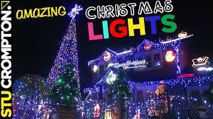 christmas house lights awesome christmas house lights show 2016 uk