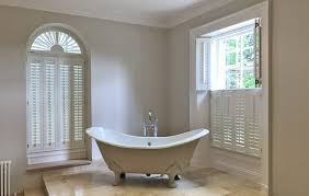 solid plastic interior window shutters for yeadon bathroom