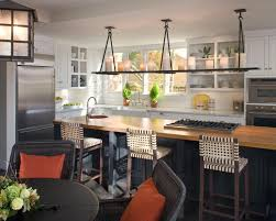 Rustic Modern Kitchen Ideas Pendant Lamp Hang On Wooden Ceiling