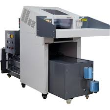 industrial paper shredder with hydraulic baler combination china