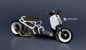 custom honda honda ruckus custom by hugosilva on deviantart