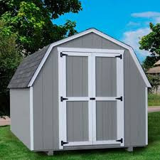 little cottage 24 x 12 ft value gambrel barn precut storage shed