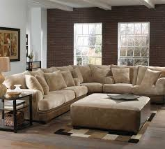 Cream Colored Sectional Sofa by Jackson Axis Large Sectional Sofa Set Chocolate Haute Decor