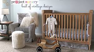 project nursery best of vintage decor in the baby u0027s room youtube