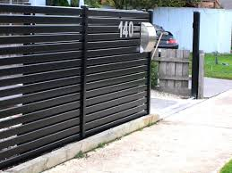 choosing the right fence and gates designs for your front yard