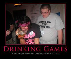 Beer Pong Meme - all fun and games drinkers de light