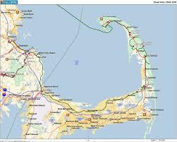 Boston Road Map by Car Free Bike Trips