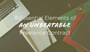 8 freelance contract essentials plus a free template