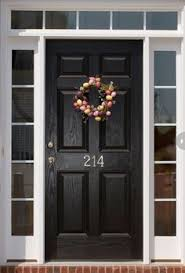 Paint For Doors Exterior Diy Lessons Learned Painting My Front Door Black Painted Front