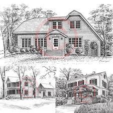 drawing houses pen and ink artist kelli swan custom portraits of houses homes