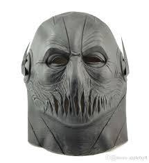 Mask Movie Halloween Costume Flash Mask Dc Movie Cosplay Costume Black Prop Halloween Purim