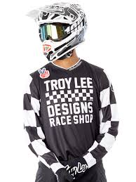troy designs shop troy designs black 2018 gp checker mx jersey troy