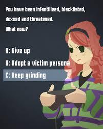 Grinding Meme - option c gamergate know your meme