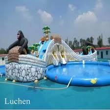 backyard inflatable water park backyard inflatable water park