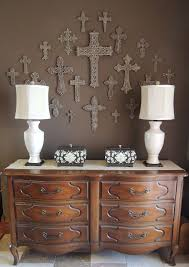 wall decor crosses like the boxes but the crosses on the wall better organizing with